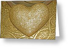 Lost My Golden Heart Greeting Card
