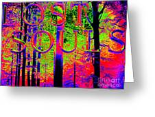 Lost Souls Greeting Card