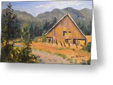 Lost Valley Barn Greeting Card
