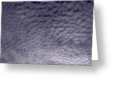 Lots Of Puffy Clouds Greeting Card