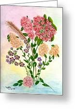 Lots Of Flowers Greeting Card