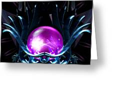 Lotus Crystal Greeting Card