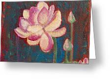 Lotus Dream Greeting Card