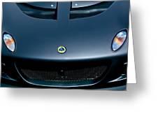 Lotus Hood Emblem -0020c Greeting Card