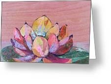 Lotus I Greeting Card