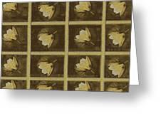 Lotus In 16 Bits Greeting Card