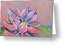 Lotus Iv Greeting Card