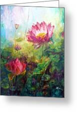 Lotus Light Greeting Card