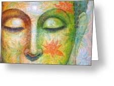 Lotus Meditation Buddha Greeting Card