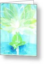 Lotus Petals Awakening Spirit Greeting Card by Ashleigh Dyan Bayer