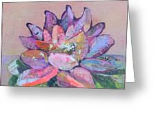 Lotus V Greeting Card