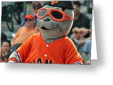 Lou Seal San Francisco Giants Mascot Greeting Card