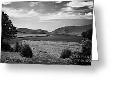 lough beagh glenveagh national park county Donegal Republic of Ireland Greeting Card