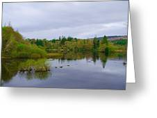 Lough Eske In The Morning Greeting Card