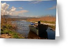 Lough Gill In Co.kerry Greeting Card