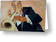 Louis Armstrong 1 Greeting Card