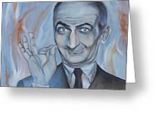 Louis De Funes Greeting Card