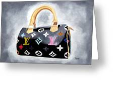 Louis Vuitton Study II Greeting Card