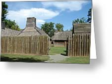 Louisiana Fort Greeting Card