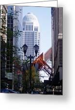 Louisville Buildings 2 Greeting Card