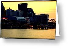 Louisville Lights Greeting Card