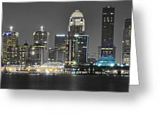 Louisville Lights Up Greeting Card