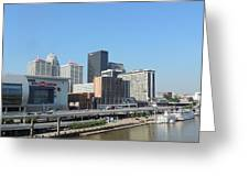 Louisville Skyline  Greeting Card