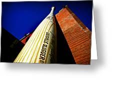 Louisville Slugger Bat Factory Museum Greeting Card