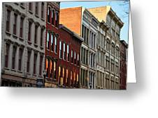 Louisville West Main Street Greeting Card