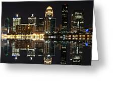 Louisville X2 Greeting Card