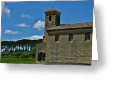 Lourmarin Castle Greeting Card