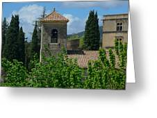 Lourmarin Castle In Provence Greeting Card