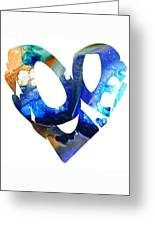 Love 4 - Heart Hearts Romantic Art Greeting Card