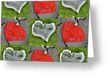 Love 9 Squared Greeting Card