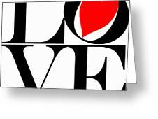 Love All Around Greeting Card