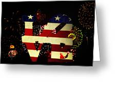 Love American Style Greeting Card by Bill Cannon