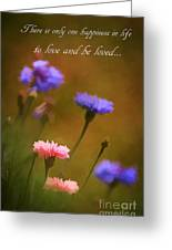 Love And Be Loved Greeting Card