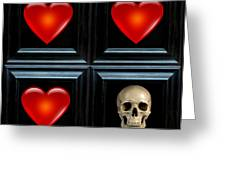 Love And Death II Greeting Card