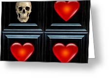 Love And Death IIi Greeting Card