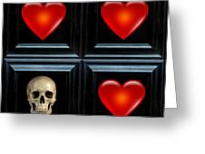 Love And Death Iv Greeting Card