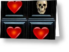 Love And Death V Greeting Card