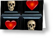 Love And Death Vi Greeting Card