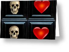 Love And Death Viii Greeting Card