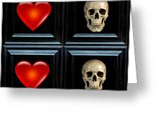 Love And Death Xi Greeting Card