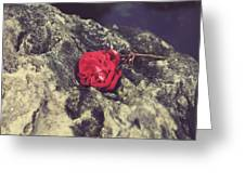 Love And Hard Times Greeting Card by Laurie Search