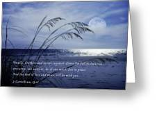 Love And Peace Be With You Greeting Card