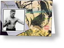 Love And War Tunney Greeting Card