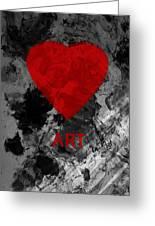 Love Art 1 Greeting Card