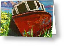 Love Boat Greeting Card