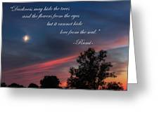 Love From The Soul Greeting Card